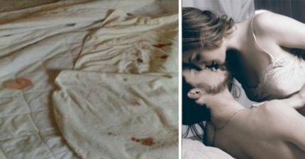 情侶住飯店故意「月經血」染整間白色物品!搞成命案現場,不到1小時「要求換床單」!