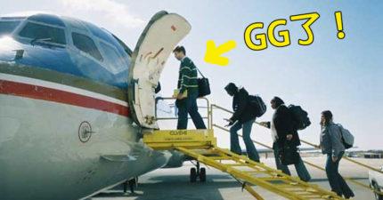 這就是為什麼搭乘飛機坐在靠前位子對你的健康有傷害!
