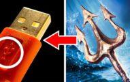 10個生活常見但你「完全不知道隱藏意思」的知名符號!USB符號象徵「海神三叉戟」!