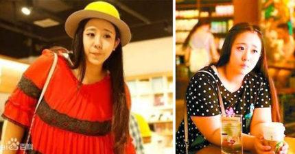 號稱「最美女胖子」的中國女孩,努力減肥成功「比名模正」卻還是被網友罵翻