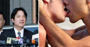 賴清德表示愛滋病不是針筒引起「而是男男同性戀」爆爭議,撇清「沒任何不敬」