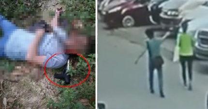 釘槍爆頭後續發展!19歲女遭「釘槍爆頭」慘死街邊...怪男逃離後「開槍自轟」!(影片)