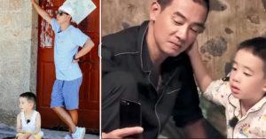陳小春「狂飆吼4歲兒子」網友好心疼,無奈揭「兒子看不起他」!