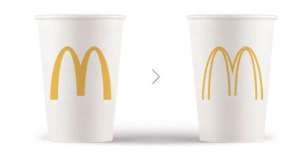 他們把各大品牌的標誌「簡易化」,讓公司每年省下數億元預算!星巴克的更好看了 (11張)