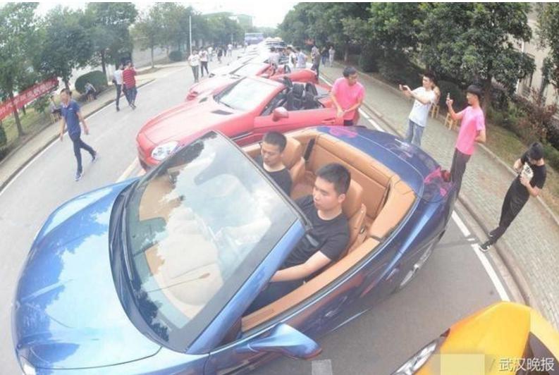 中國職校霸氣砸下「4600萬買多輛超跑」,讓學生能「動手拆開」直接學習!