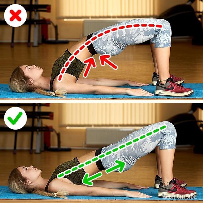 一堆人都做錯了!15個「不但沒練到肌肉還造成運動傷害」的嚴重錯誤健身姿勢!