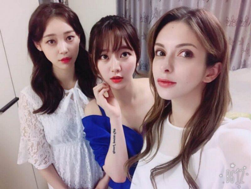 全韓國第一個白人女團偶像出爐! 「以俄混血高顏質女神」讓網友都暴動了!
