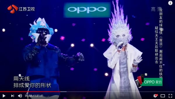面具根本沒用!台灣兩大唱將獨特嗓音藏不住,《蒙面唱將》一開口就被秒認!。(影片)
