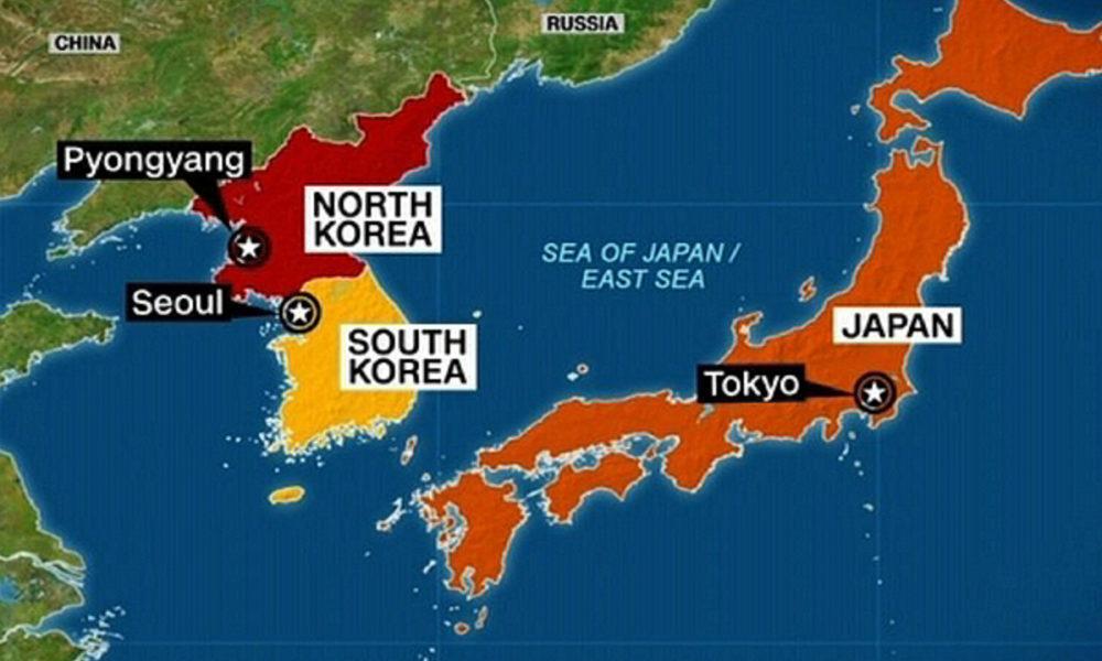 戰爭隨時開始!首相安倍晉三緊急下令「大規模撤離6萬在韓日本國民」,已做最壞打算。