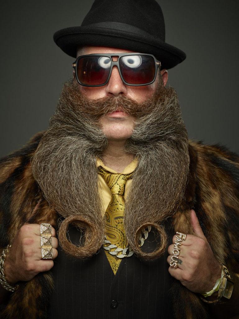 30張讓人從明天開始不刮鬍子的「2017超狂鬍子造型賽」!