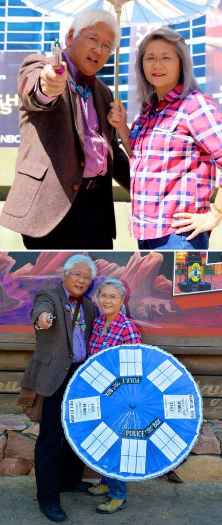 退休老夫婦找到新目標,每個月都DIY自己Cosplay服裝讓年輕人不小心都跪了! (11張)