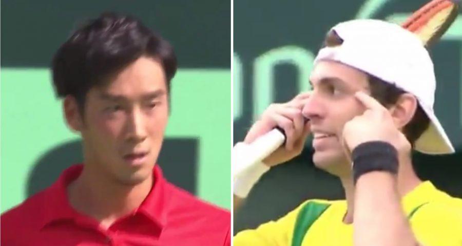 巴西選手對戰日本「故意比瞇瞇眼」歧視亞洲人挨罰!