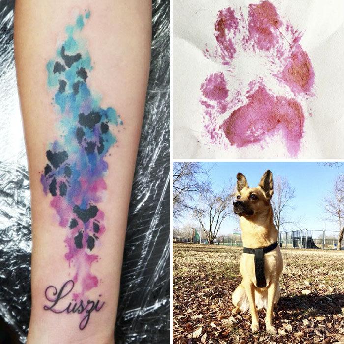 30張能讓毛小孩永遠陪在你身邊的「狗狗腳印刺青」 超Q肉球裝載滿滿的愛!