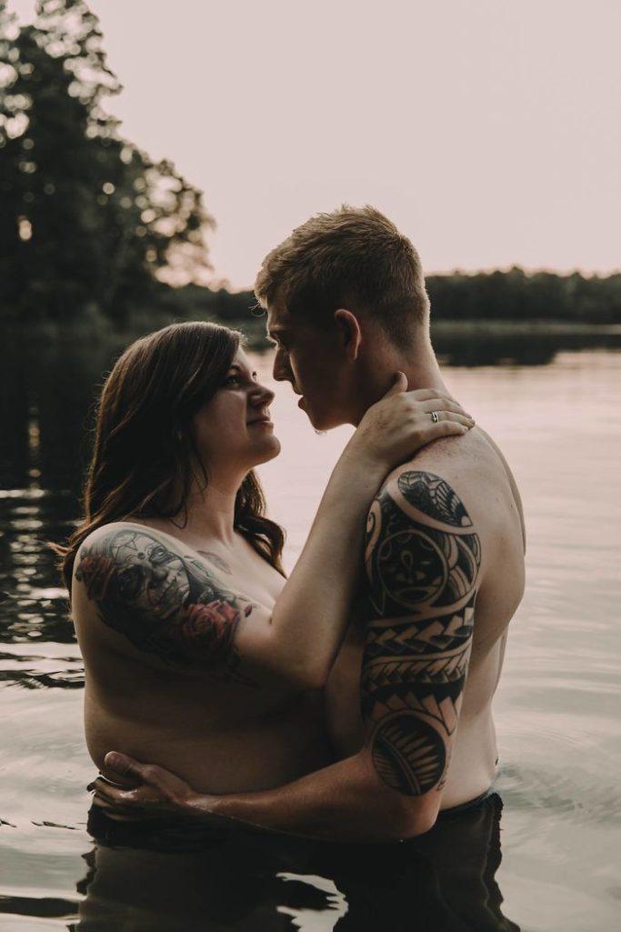 拍婚紗照當下超擔心會被網友「笑太肥」 網看完讚爆:最美的普通人!