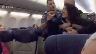 又爆拖客下機!孕婦稱「我有致命過敏」遭熊抱硬拖下機!目擊者力挺航空公司:「他們沒做錯!」