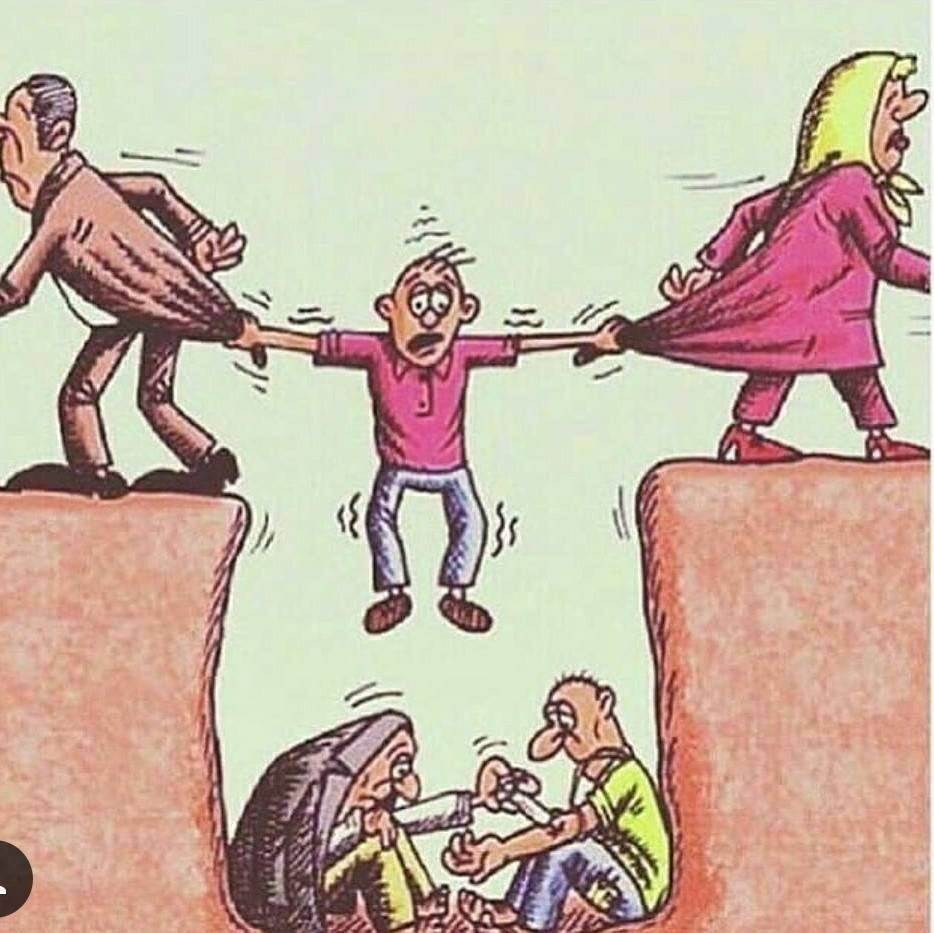 15張「揭露社會黑暗面」的震撼插畫 你選擇「溫柔謊言」還是殘酷真相?