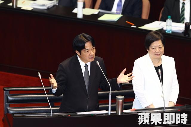 「我是務實台獨主義者」!賴清德備詢表態:台灣已是主權國家,不必另外宣布獨立!