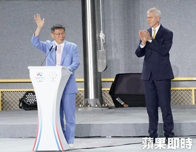 柯P賺慘!世大運會長掛保證「他地位更穩」,57%民眾瘋喊:「快點連任!」