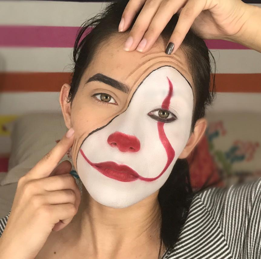 17個嚇到鄰居小孩睡不著的「2017萬聖必備小丑妝」!卸掉妝正到犯規