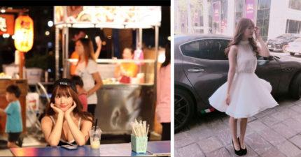 三上悠亞「低胸爆奶」逛台南花園夜市,「坐路邊喝飲料」竟然沒人認出....網友笑:去錯地方了啦!