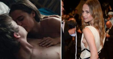 《丹麥女孩》女主角最新片,因為「太多愛愛畫面」讓預告片被媒體封殺! (兒童不宜)
