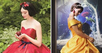 6個日本設計公司推出的迪士尼「華麗公主婚紗」,讓人沒對象都想嫁了!