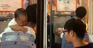 女乘客見「嬰兒穿短袖」拍下報警,結果逮到誘拐人販子!