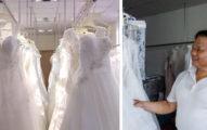 皇家品牌也是客戶!全球最大婚紗生產商「藏在台灣」,全球每10個新娘就有2個穿他們的婚紗!