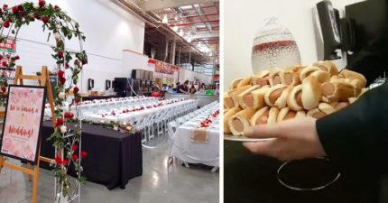 情侶在好市多舉辦婚禮 來賓「熱狗+汽水吃到飽」!新娘:最夢幻的婚禮