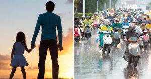 「我的女兒永遠停在20歲」...79歲老爺爺哽咽提醒:「下雨天不要騎車...」惹哭網友!