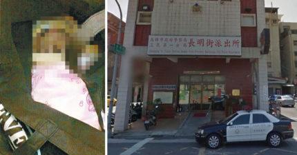 他抱「黑色塑膠袋」衝警局喊:我殺女兒!員警開袋驚見「12年女嬰屍」立刻逮捕...