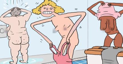 9個絕對不能@愛游泳的朋友「女生游泳一定會遇到」噁心事。