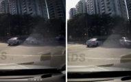 36萬網友都看不出「憑空衝出的車子」是怎麼造成車禍的...網友看完傻了:幽靈車禍?(影片)