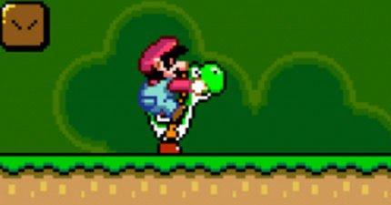 超級瑪莉真的是個混蛋!「他不是在喊GO!」遊戲設計師坦承「瑪莉歐是在用拳爆打耀西的頭」!