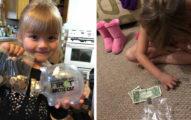 5歲女孩突然「掏空撲滿」數錢,「為了讓好友能喝到牛奶」感動網友籌得21萬!