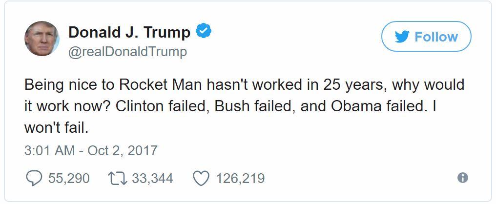 川普:跟金正恩談判是浪費時間!25年3任總統都失敗「現在要做美國必須做的事」!