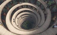 世界上最狂樹屋!「螺旋高塔」走到底層更震撼! (11張)