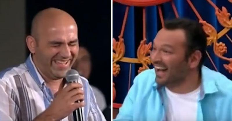 主持人已經很好笑,但這名觀眾的「喧賓奪主笑聲」讓全場笑了整整100秒!