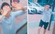 韓國歐巴每次跟女友約會完...比韓劇還閃「瘋狂哭跑示愛」閃瞎全網路!(影片)