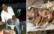 印度男把幼犬當球狂踢「踢到腸子都炸出來」慘死!主人才剛領養幾天心碎...