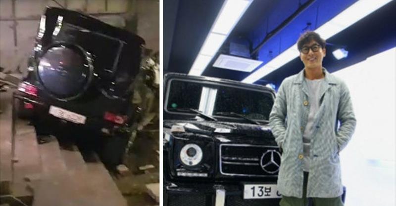 韓國男星發生車禍「整台翻下樓梯」送醫不治,女友錄《RM》到一半心碎崩潰...