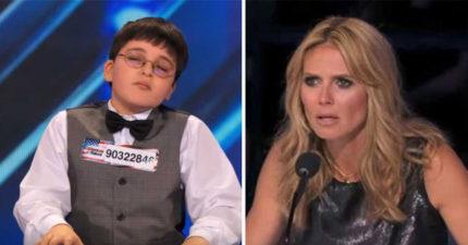 評審以為9歲小男孩彈鋼琴是播放錄音帶,請他彈奏第二首時他們都快跪了!