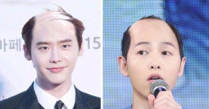 6名超帥韓國歐巴被P成「全變禿頭」 網友淚推:考驗真愛的時機到了!