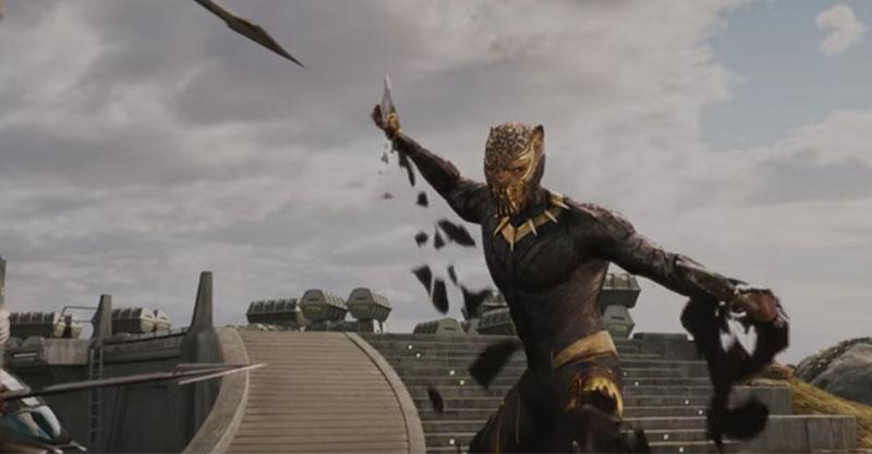 漫威《黑豹》最新預告屌打鋼鐵人,變身過程帥到不要不要的!
