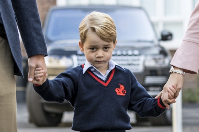 ISIS恐怖組織PO出「小喬治王子」照片+校址,英媒爆學校有嚴重「安全漏洞」能輕易闖入!