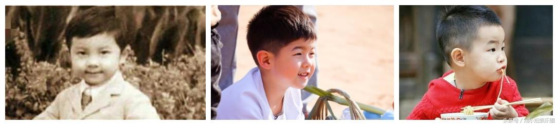 《爸爸去哪兒》5位萌娃、帥爸比對圖發現...陳小春父子竟不是最像!劉畊宏原來長得超美