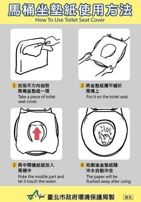 史上深度的廢文!99.9%女性不知道怎麼用的「馬桶坐墊」,一張操作圖讓妳直接突破盲腸!