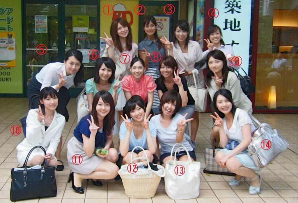14位「顏值破表」櫻花妹塞滿照片,只要是處男絕對選「11號清純妹」...老司機:都是來自色片的幻想!