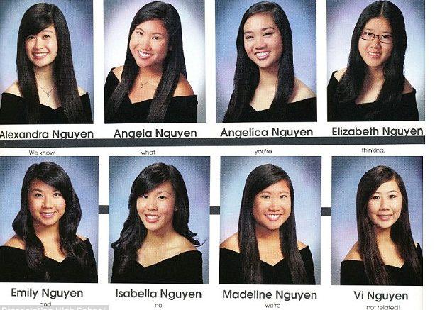 4位同姓氏越南女生受不了整天被老外歧視是「姊妹」終於崩潰,在畢業紀念上留下「爆笑反擊」