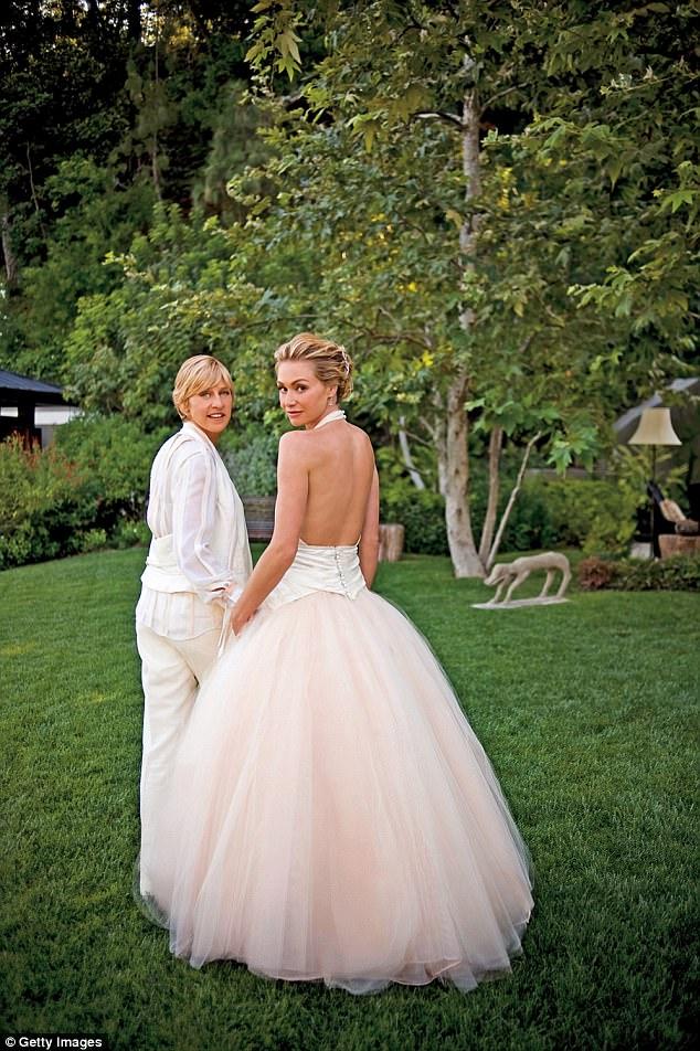 剛過完9周年結婚紀念日,艾倫狄珍妮被爆將在澳洲「二度結婚」